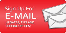 Sign up to email updates, tips, and special offers!