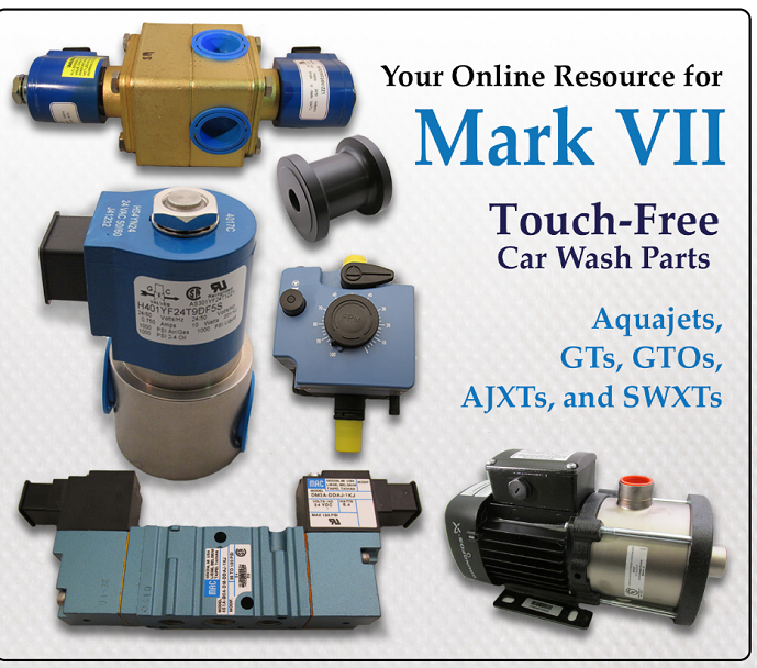 Landon's Car Wash & Laundry. Your online resource for Mark VII Touch-Free Car Wash Parts